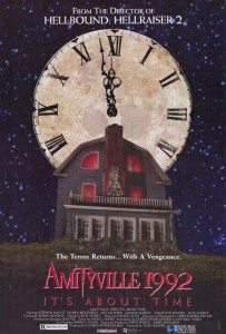 amityville 1992 its about time poster