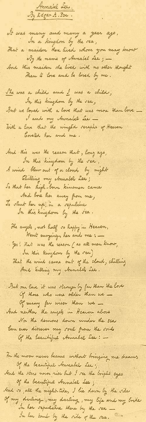 Annabel_Lee_fair_copy_Poe_1849