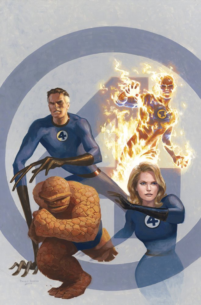 Rivera Mythos Fantastic Four Cover