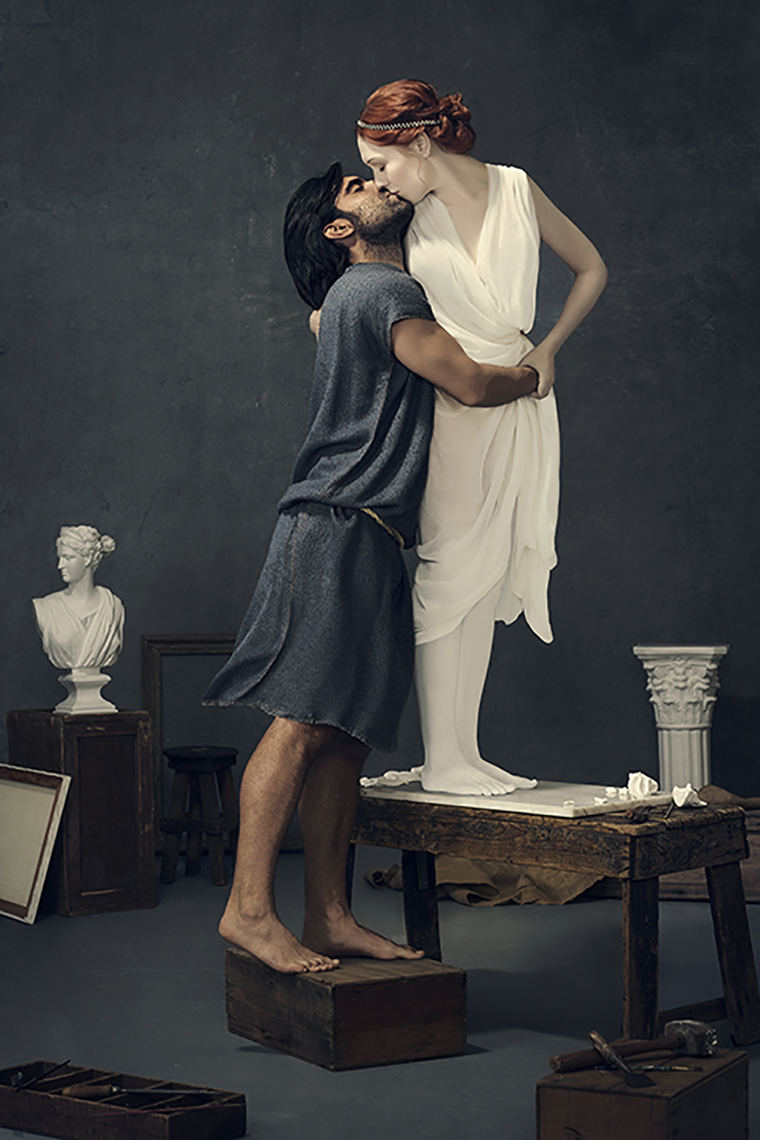 PYGMALION AND GALATEA ©ELISABETH CAREN 2014-2015 ALL RIGHTS RESERVED